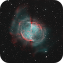 Messier 27 in Hα and Olll - Bicolor,                                Simon Großlercher