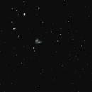 NGC 4567 and NGC 4568 the Siamese Twins,                                RonAdams