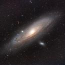 M31 HaLRGB FSQ130,                                Xplode