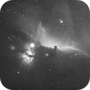 IC 434 and  B 33 in H-Alpha,                                Wolfgang Zimmermann