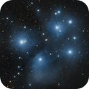 Messier 45 - Pleiades,                                Spitzer