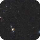 Orion wide field (bottom side) in city light pollution,                                Cyril NOGER
