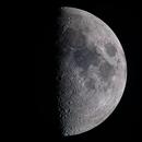 First Quarter Moon - August 7th 2019,                                Martin Childs
