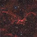 SH2-114 - The Flying Dragon Nebula (HaLRGB),                                Frank Breslawski