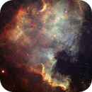 North American Nebula in SHO,                                chuckp