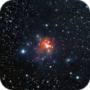 Northern trifid nebula - NGC1579 - SH2 222,                                Jean-Marie MESSINA