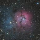 M20 Triffid Nebula,                                Grahame
