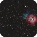 Trifid Nebula and Messier 21,                                Jairo Amaral