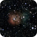 M20 : Trifid nebula,                                WillB42