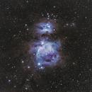Orion and Running man Nebulas,                                Chris Levitan