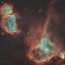 IC1805 Heart Nebula,                                TheFinePrint