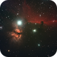 Horsehead and Flame Nebulas in Orion,                                Patrick Hsieh