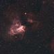 M 17 Omega Nebula @ Ha-RGB,                                Wolfgang Zimmermann
