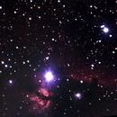 orion belt & horsehead nebula,                                omar salah
