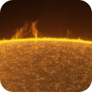 Small quiescent prominence - 30.08.2019,                                Łukasz Sujka
