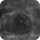 Rosette Nebula #3 (Ha, live stack),                                Molly Wakeling