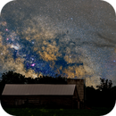 Sagittarius Region of the Milky Way and The Head of The Scorpion over a Beckwith Barn,                                Doug Griffith