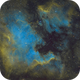 NGC 7000 SHO, Totally reprocessed, Old version removed,                                Erik Guneriussen