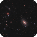 NGC 4725 in Coma Berenices,                                Nurinniska