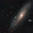 Andromeda Galaxy 300mm,                                Mikel Castander