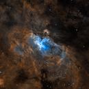 Eagle Nebula SHO,                                Jacky Tian