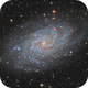 M33 in HA-LRGB the final one,                                Vincent F