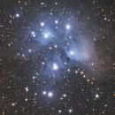 M45 Pleiades Seven Sisters,                                Elmiko