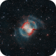 M27, The Dumbbell Planetary Nebula,                                Mark Wetzel