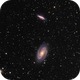 M81 and M82 - Bode's Galaxy and the Cigar Galaxy,                                andefeldt