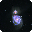 M51 enhanced with Ha, SII and OIII,                                Andreas Dietz