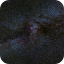 Milky Way from Arches,                                abreen