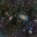 Bode's Nebulae (Messier 81 & 82),                                Miles Zhou