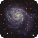 M101 LRGB,                                Mike Matthews