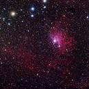 IC 405 - Flaming Star Nebula,                                GregK