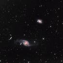 Galaxy Pair NGC 3718 and NGC 3729,                                Tim