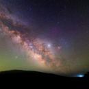 Milky Way near the shore of the Pacific,                                Nikita Misiura