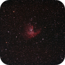 NGC 281 - PacMan Nebula,                                Mike Hislope