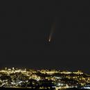 Comet rising - C/2020 F3 NEOWISE 09/07/2020 - magnitude 1.7,                                Andrea Storani