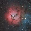 """M20 """"Trifid Nebula"""",                                Poochpa"""
