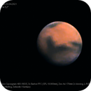 """Mars 03.04.2021, 5,2"""" Dia,                                Uwe Meiling"""