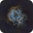 First attempt at SHO on the rosette nebula,                                Mike Lloyd