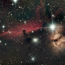 Horsehead and Flame Nebulae,                                Ray Heinle