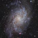 M33,                                AstronoSeb