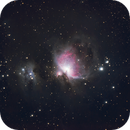 Orion Nebula M42 from Northern Denmark (Nordjylland),                                pptw