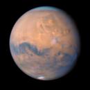 Mars - Olympus Mons regio (color + R),                                Łukasz Sujka