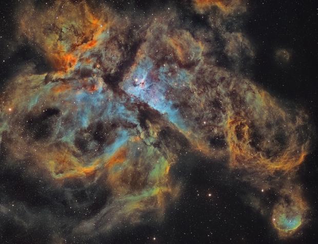 NGC 3372 in Carina,                                Ivan Bok