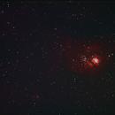 Lagunennebel - NGC 6523_M8,                                Silkanni Forrer