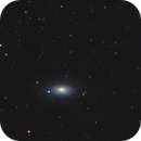 Messier 63 with a surrounding triplet,                                Kharan