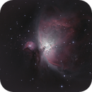 M42 & M43 in Orion,                                  Mattes