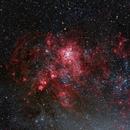 NGC2070, Tarantula Nebula,                                Annette & Holger